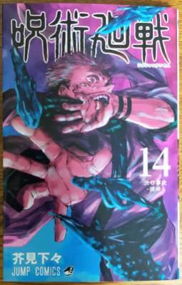 「呪術廻戦」14巻の表紙